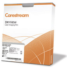 Рентгенпленка Carestream (Kodak) для лазерных принтеров DVB+ 35х43 (125 л.)